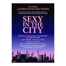 Bachelorette / Lingerie Movie Poster Party Invite