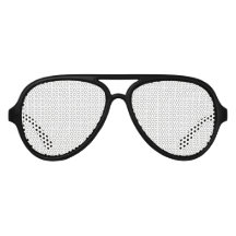 Adult Aviator Party Shades, Black