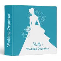 Bride Silhouette Wedding Organizer Binder