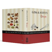 Gourmet Kitchen - Recipe's Binder