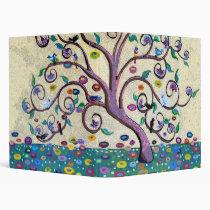 Tree of life vinyl binder