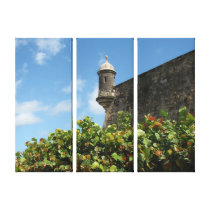 Old San Juan, Puerto Rico View Gallery Wrapped Canvas