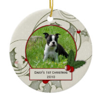 Puppy's 1st Christmas Ornament