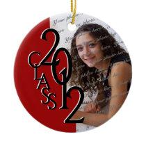 Class 2012 Graduation Photo Ornaments