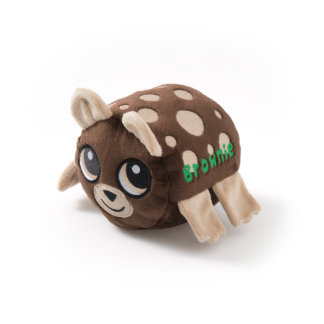 Brown Spotted Baby Cub Stuffed Animal