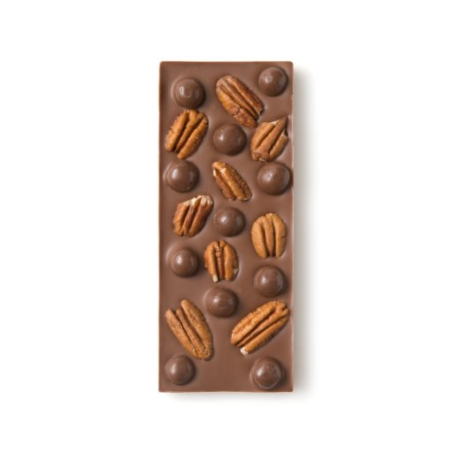 Pecan and Cookie Dough  Milk Chocolate Bar