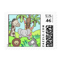Baby Jungle 26 Stamps