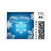 Glowing Snowflake Stamps