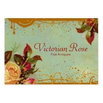 Victorian Rose Elegant Business Cards