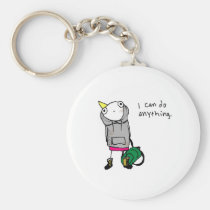 I can do anything. keychain
