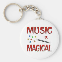 Music is Magical Keychain