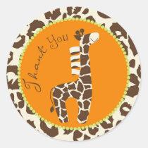Safari Boy Green TY Sticker C2B