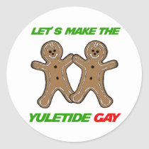 LET'S MAKE THE YULETIDE GAY -.png Stickers