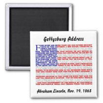 Gettysburg Address Fridge Magnets