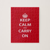 Keep Calm and Carry On Puzzles