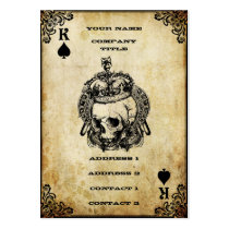 King of Spades - Business Card Business Card Templates