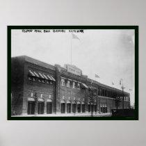 Fenway Park Boston Baseball 1914 Posters