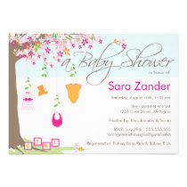 Baby Shower Invitation - Baby Clothes