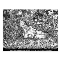 Fairy Houses Postcard #3