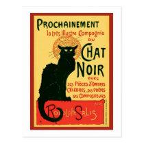 Tournée du Chat Noir, Theophile Steinlen Postcards