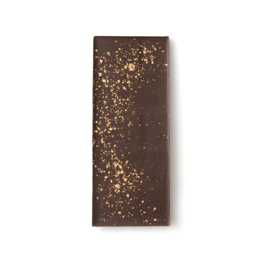 23 Karat Gold Flake Dark Chocolate Bar