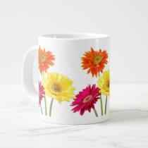 Gerbera Daisy Extra Large Mugs
