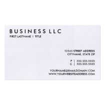 lawyer. (color customizable) business card
