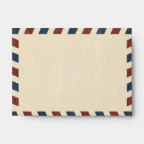 Vintage Airmail A6 Envelope
