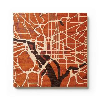 Washington DC by Woodcut Maps