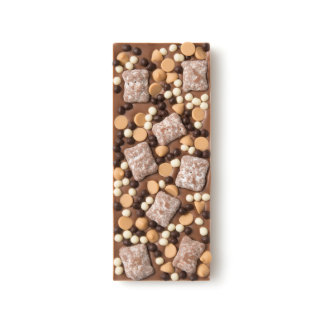 Chocolate Crisp Pearl and Peanut Butter Milk Chocolate Bar