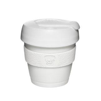 Taza de café reutilizable blanca de XS (4oz/118ml)