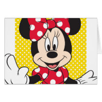 Red & White Minnie 2 Card