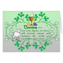 First Holy Communion Greeting Card Traditional