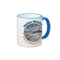 Heron Watcher Photo Mug