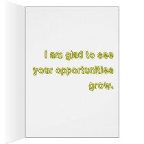 Good Bye Card / Congratulations Card