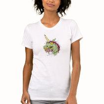 Zombie Unicorn T Shirt