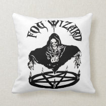 Fog Wizard double-sided evil pillow
