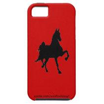 Saddlebred Silhouette iPhone 5 Case
