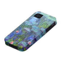 Monet Water Lilies 1915 iPhone 4 Case-Mate