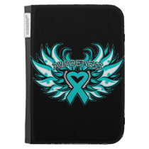 Interstitial Cystitis Awareness Heart Wings Kindle Cover