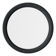 Clay Poker Chips, Black Solid Edge