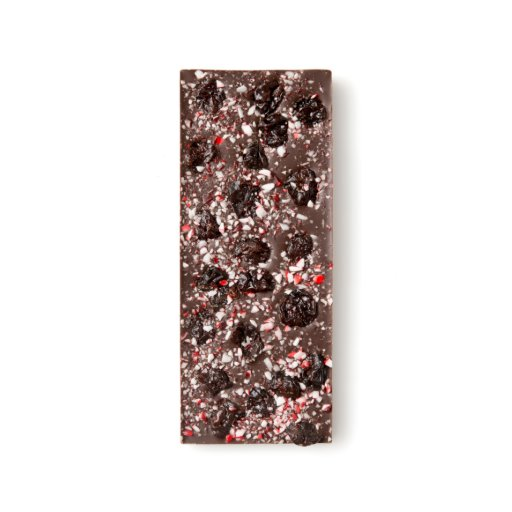 Mint Cherry Dark Chocolate Bar