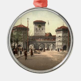 Isartor, Munich, Bavaria, Germany Metal Ornament