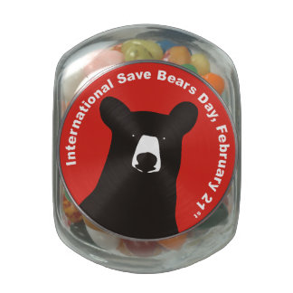 Isbd 2015 Black Bear Jelly Belly Candy Jars
