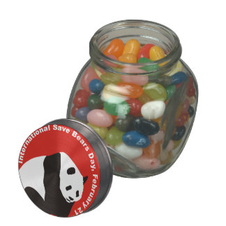 Isbd 2015 Panda Jelly Belly Candy Jars