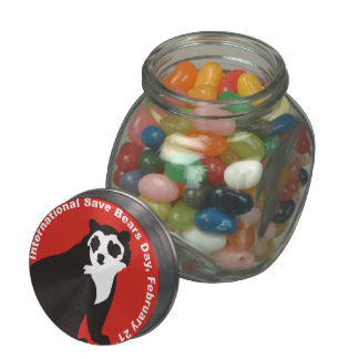 Isbd Andean Bear Jelly Belly Candy Jars