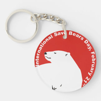 ISBD two sided key chain Polar Bare