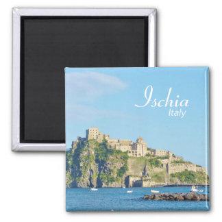 Ischia, Castello Aragonese - Magnet Fridge Magnets