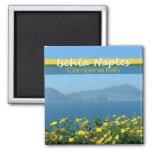Ischia Naples Campania Italy Travel Photo Magnets