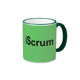 iScrum Rugby Scrum Tshirt Ringer Coffee Mug